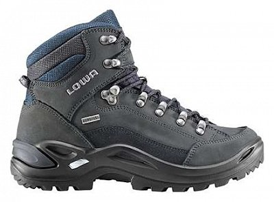LOWA RENEGADE GTX MID Ls dark grey/navy  UK 4