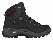 LOWA RENEGADE GTX MID Ws black/burgundy UK 4
