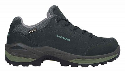 LOWA RENEGADE GTX LO graphite/jade  UK 8,5