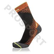 Ponožky LOWA SL PERFORMANCE MID black/orange 39-40